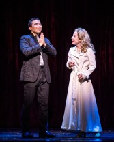 """Conrad Ricamora and Alyse Alan Louis in the world premiere of David Henry Hwang and Jeanine Tesori's """"Soft Power"""" at Center Theatre Group/Ahmanson Theatre. Directed by Leigh Silverman and choreographed by Sam Pinkleton; Soft Power; runs through June 10; 2018. For tickets and information; please visit CenterTheatreGroup.org or call (213) 972-4400. Media Contact: CTGMedia@CTGLA.org / (213) 972-7376. Photo by Craig Schwartz."""